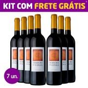 Kit 7 Garrafas - Tesouro da Vinha Tinto