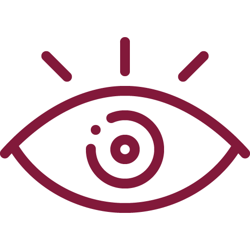 Visual: Cor retinta