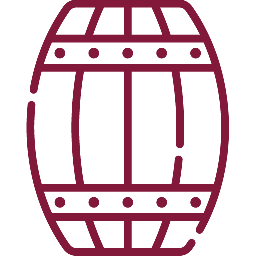 Amadurecimento: O mosto, clarificado, fermentou com temperaturas controladas em cubas inox