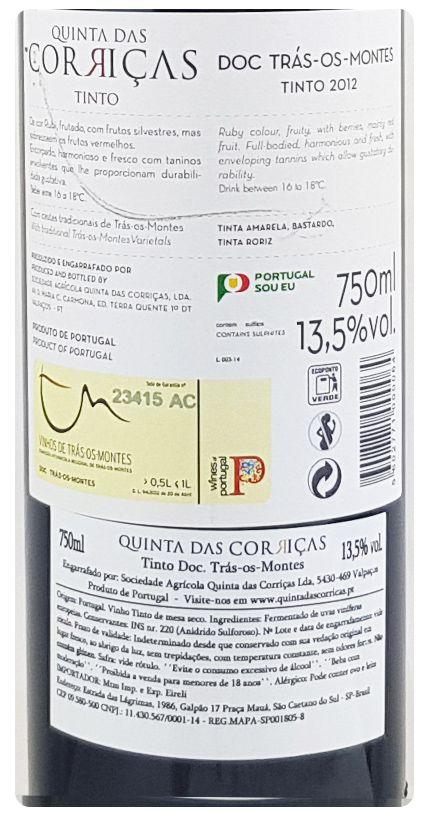 Quinta das Corriças Colheita Tinto