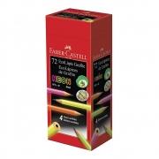 Caixa EcoLápis FABER-CASTELL Max Neon c/ 72 und.