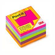 Cubo Tropical Post-It® 3M 76x76 mm c/ 450 Fls