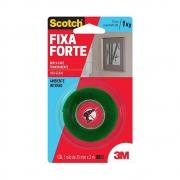Fita Dupla Face Scotch® 3M Fixa Forte Transparente 24mm x 2m