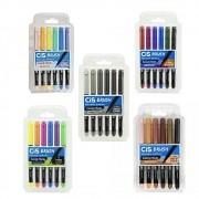 Kit Caneta CIS Brush Pen - Todos os Conjuntos