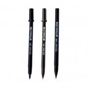 Kit Caneta Pigma Pen Brush SAKURA c/ 3 Unids