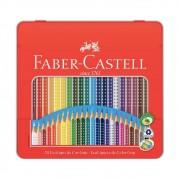 Lápis de Cor com Grip FABER-CASTELL c/ 24 Cores