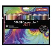 Lápis de Cor STABILO Aquacolor Arty c/ 36 Cores