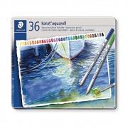 Lápis de Cor STAEDTLER Aquarelável Karat c/ 36 Cores