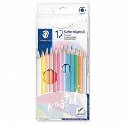 Lápis de Cor STAEDTLER Pastel c/ 12 Cores