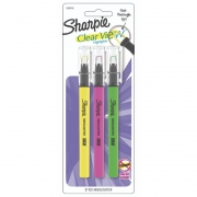 Marca Texto SHARPIE Clear View c/ 3 Cores