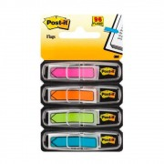 Marcador adesivo de Páginas Flags Post-It® 3M 11,9x43,2 mm