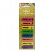 Marcador de Página Seta EAGLE c/ 8 modelos