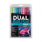 TOMBOW Dual Brush Estojo c/ 10 Unds