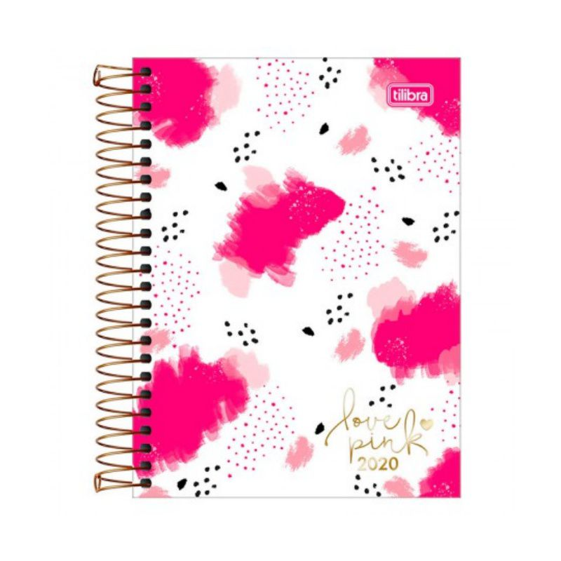 Agenda 2020 TILIBRA Love Pink 117 x 164 mm