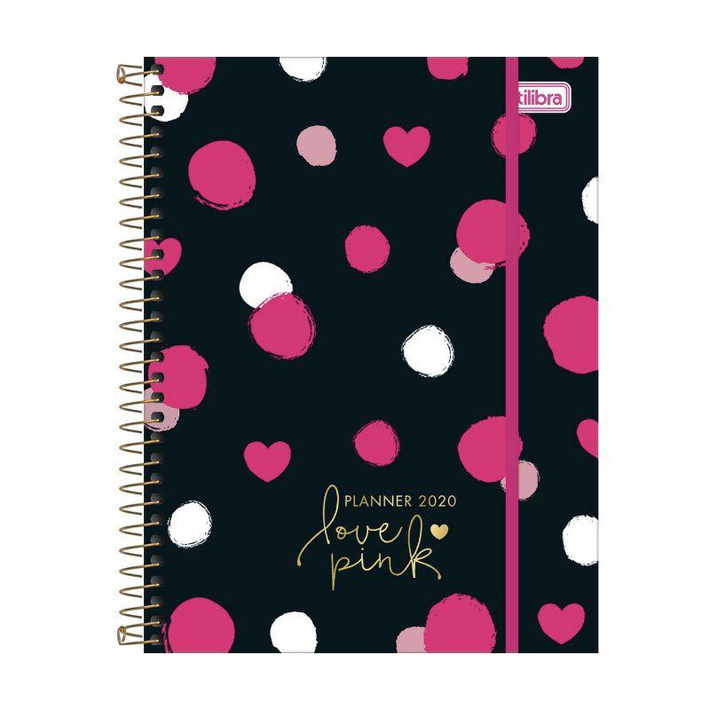 Agenda 2020 TILIBRA Love Pink 177 x 240 mm