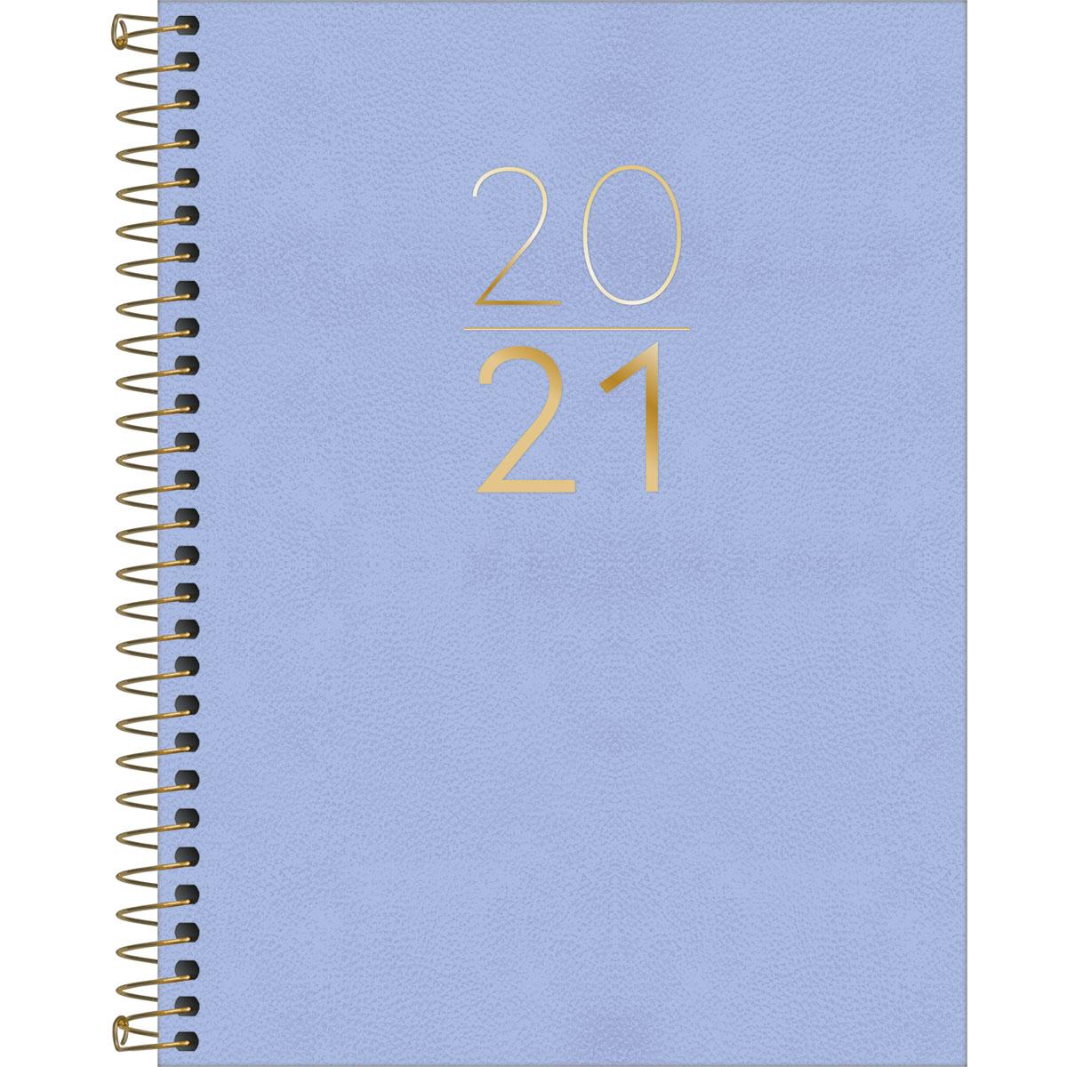 Agenda 2021 Executiva TILIBRA Espiral Vanilla