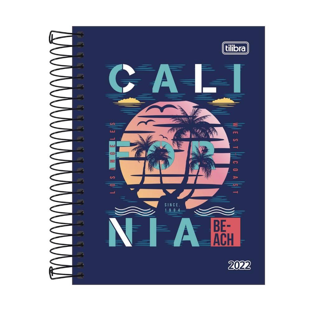 Agenda 2022 TILIBRA Diária D+ Masculina 11,7 x 16,4 cm