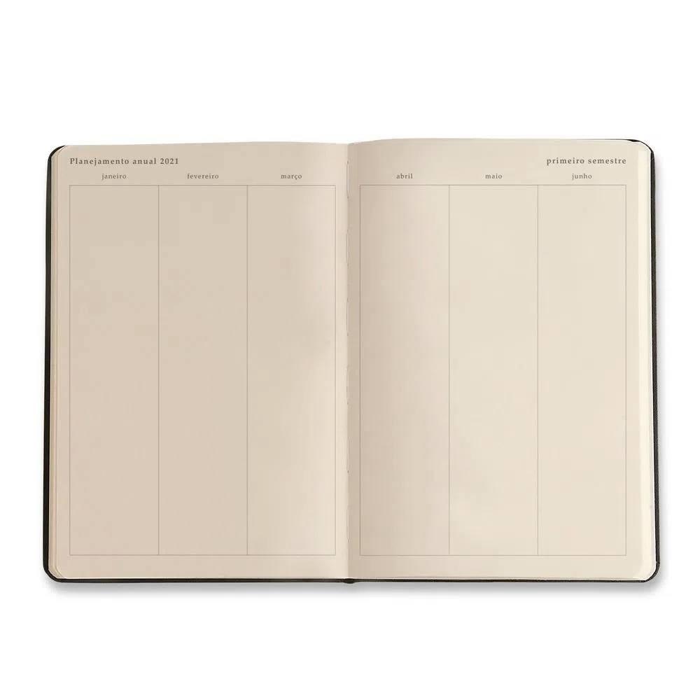 Agenda Planner 2021 CICERO Minerais Rosa 9x13