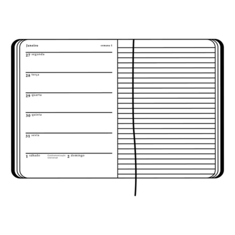 Agenda Planner CÍCERO 2020 Linha Kraft