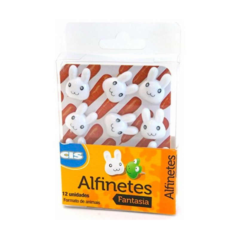 Alfinete CIS Animais 12 unds