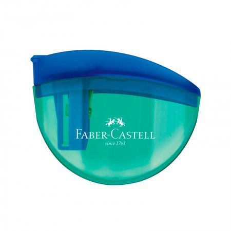 Apontador FABER-CASTELL c/ Depósito Aquarios
