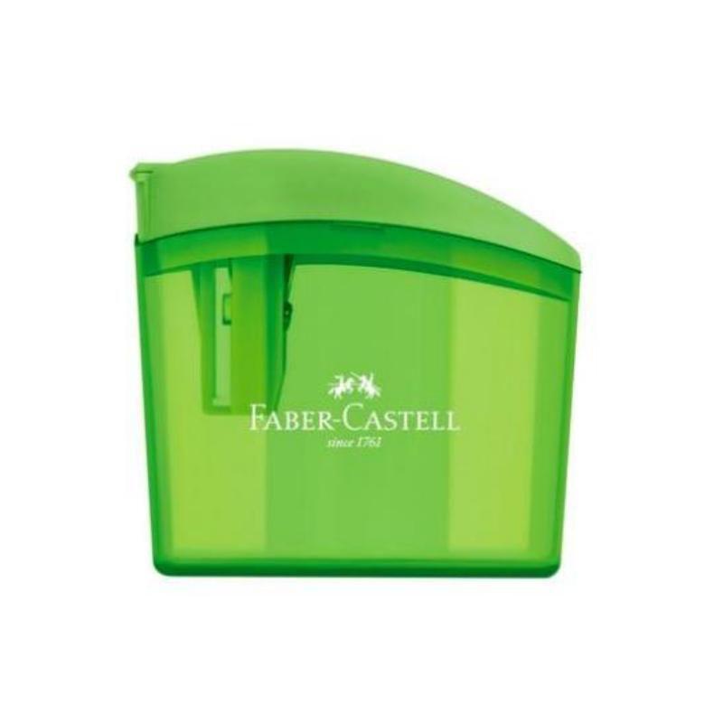 Apontador FABER-CASTELL c/ Depósito Clickbox