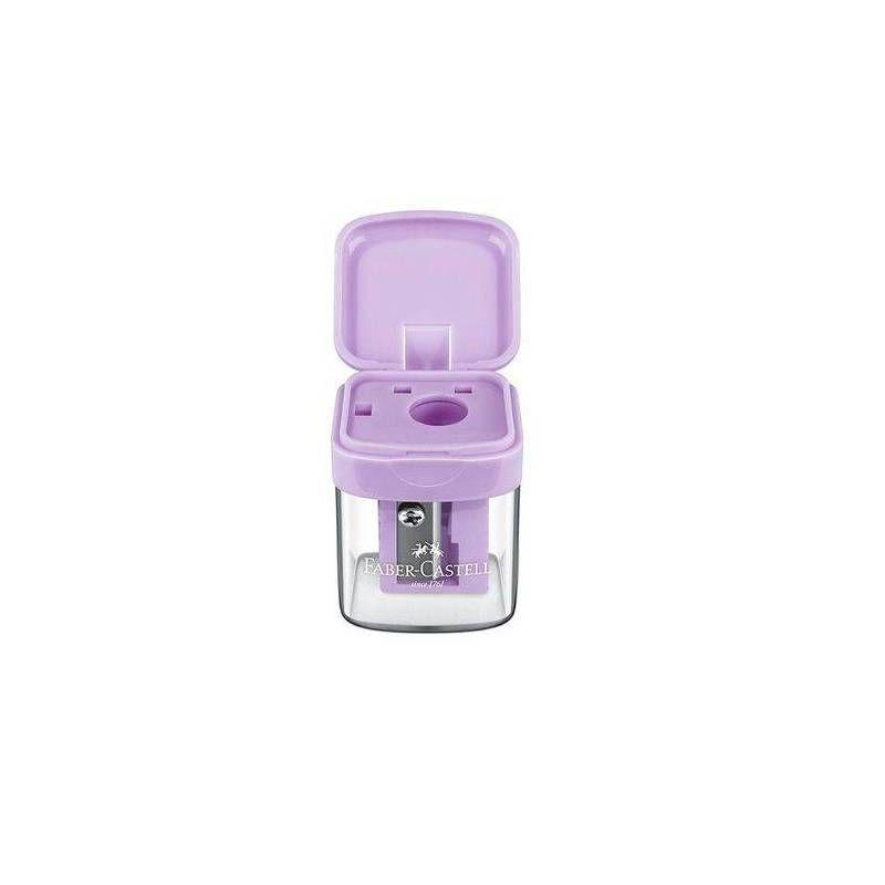 Apontador FABER-CASTELL c/ Depósito Minibox