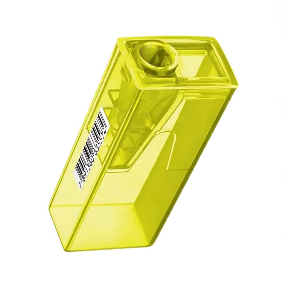 Apontador FABER-CASTELL c/ depósito Neon