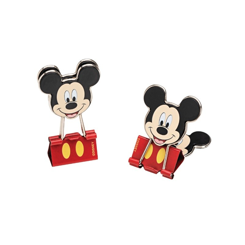 Binder Clips 25 mm Mickey MOLIN c/ 2 unids