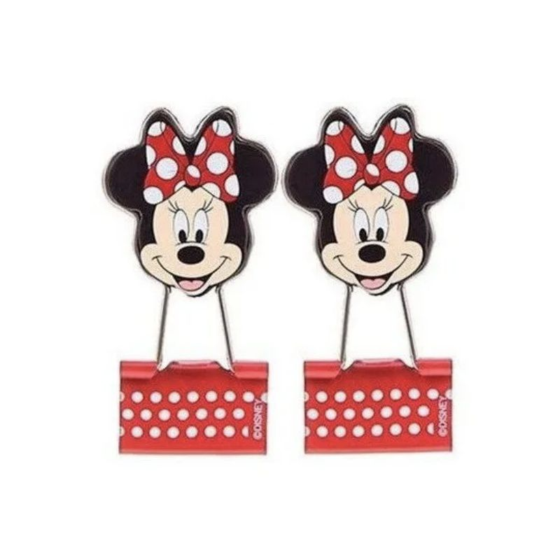 Binder Clips 25 mm Minnie MOLIN c/ 2 unids