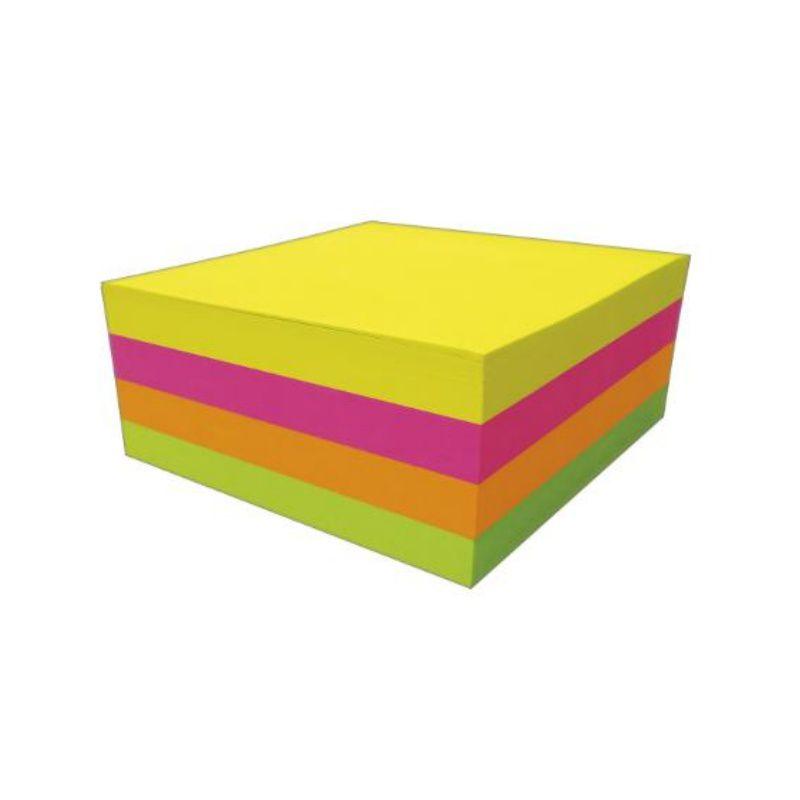 Bloco Adesivo TILIBRA Tili Notes 38 x 50 mm 4 Cores Neon