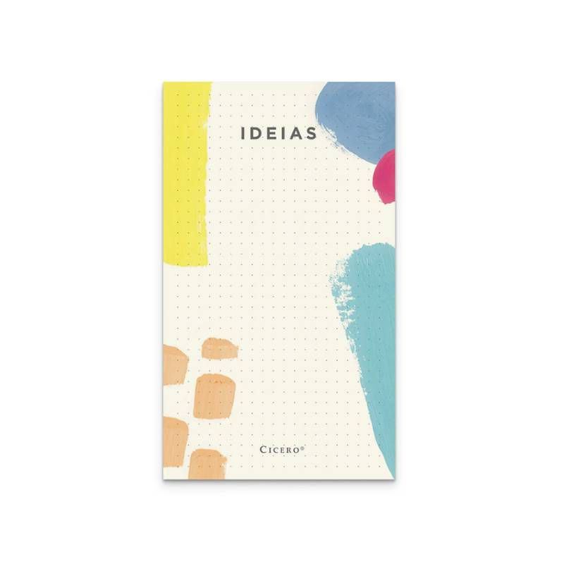 Bloco CíCERO de Ideias Pontado 10x18