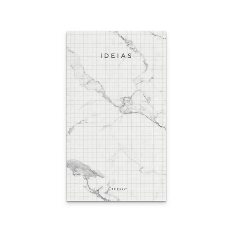 Bloco CíCERO de Ideias Quadriculado 10x18