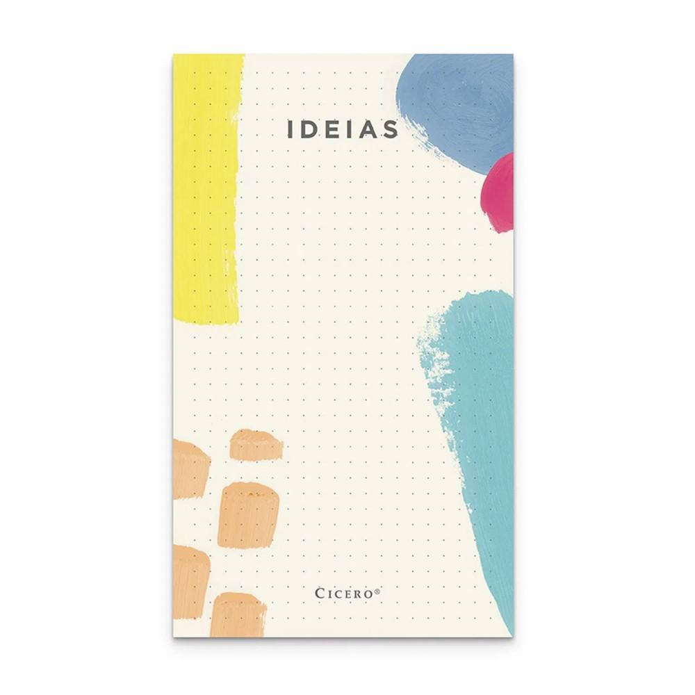 Bloco de Ideias CICERO Pontado 10x18