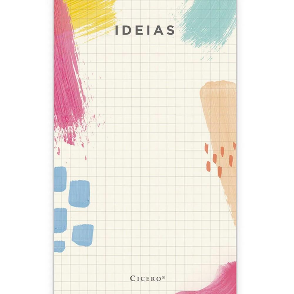 Bloco de Ideias CICERO Quadriculado 10x18