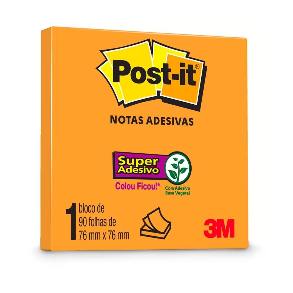 Bloco Post-It® 3M 76x76 mm c/ 90 Fls