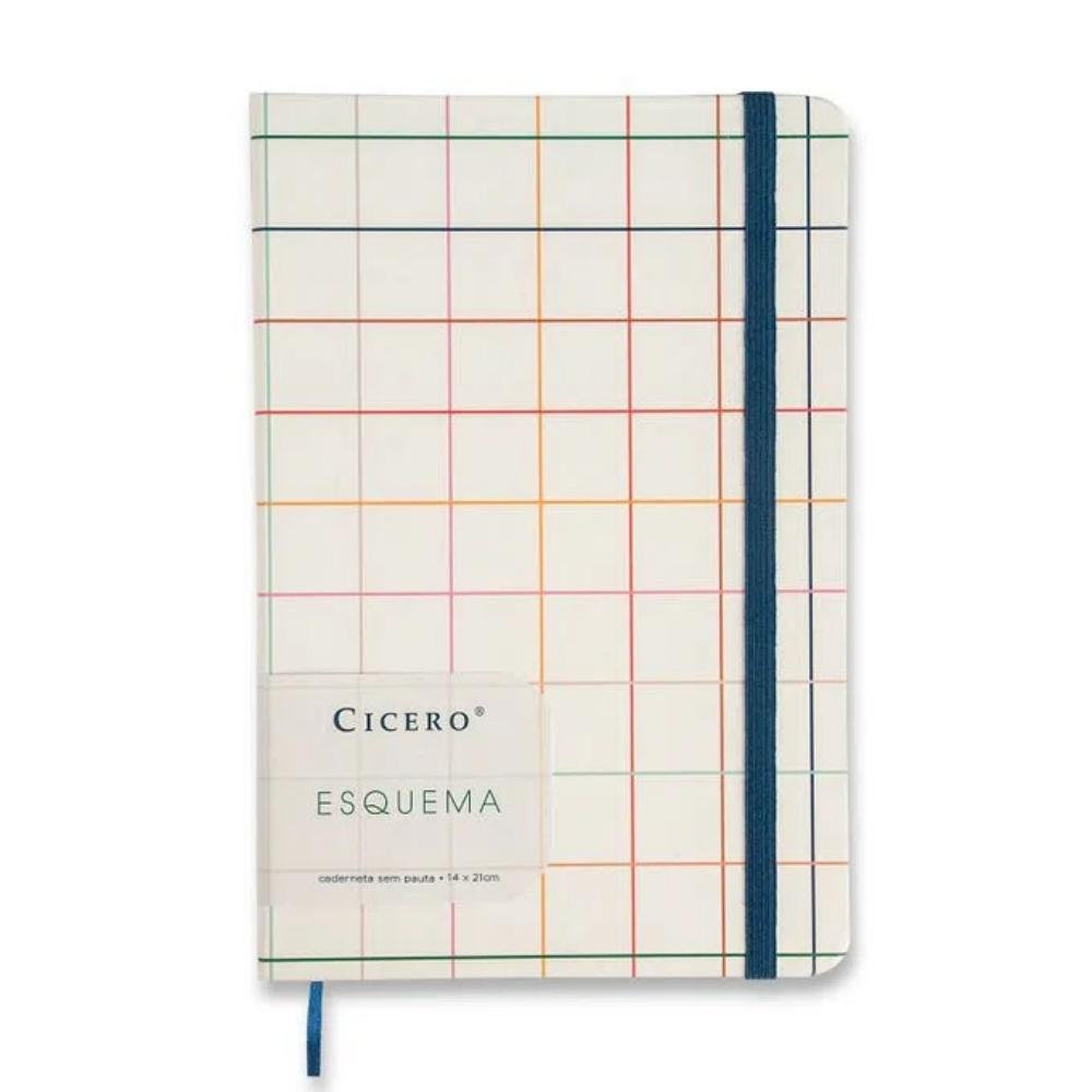 Caderneta CICERO Esquema 14x21