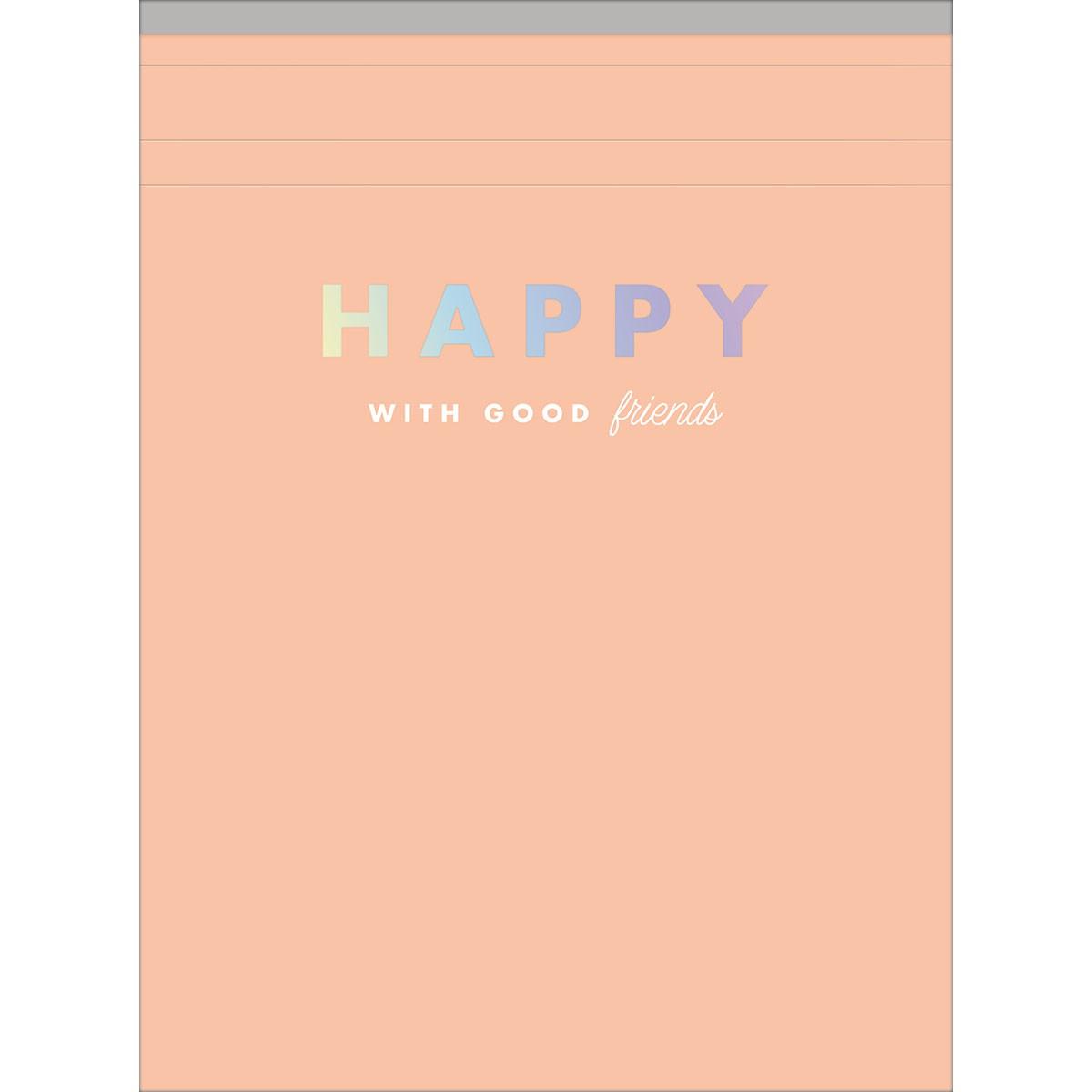Caderneta Grampeada TILIBRA Happy 80 Folhas