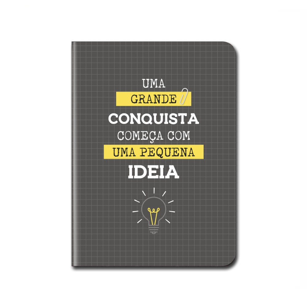Caderneta Pontada CARTÕES GIGANTES 14x19,5 cm