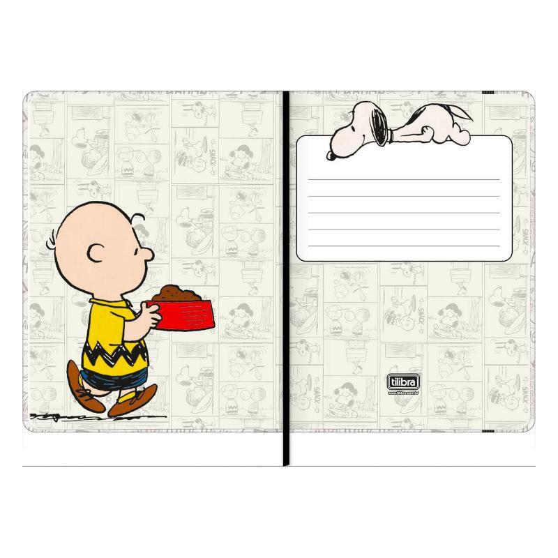 Caderneta Sem Pauta TILIBRA Snoopy Vintage 103 x 146mm