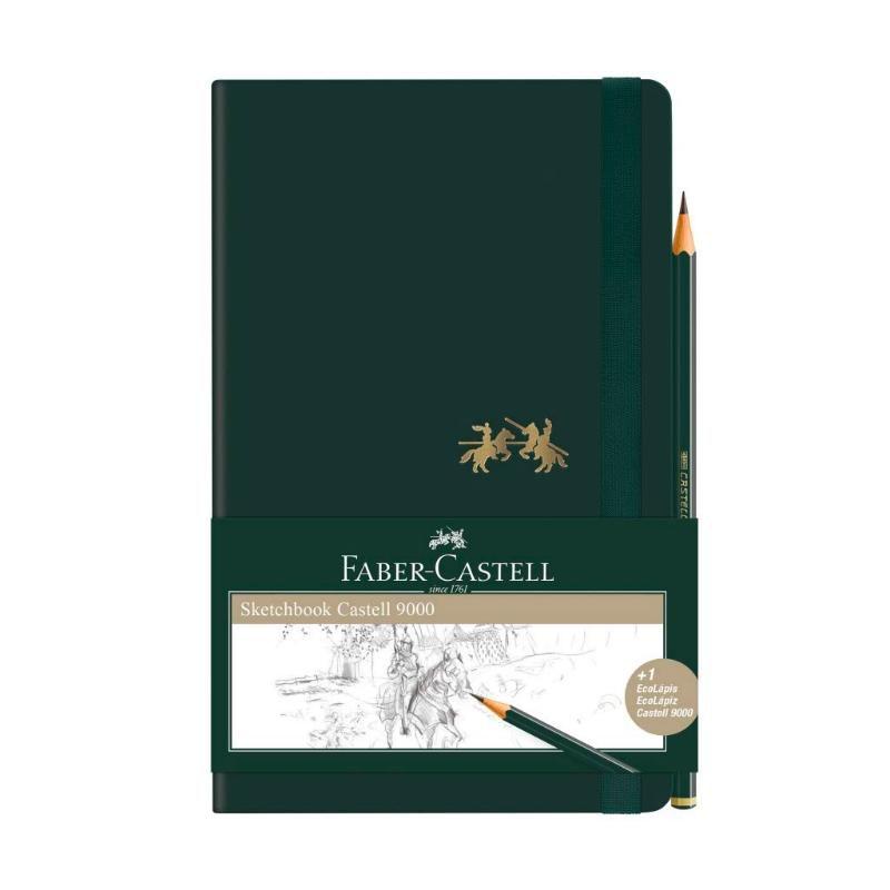 Caderneta Sketchbook FABER-CASTELL C9000 Sem Pauta