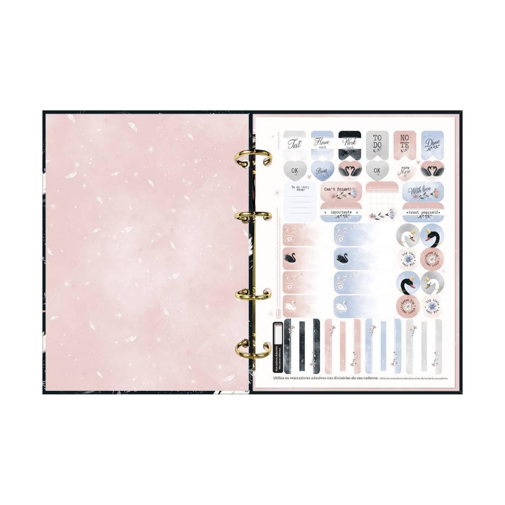 Caderno Argolado Cartonado TILIBRA Royal Colegial