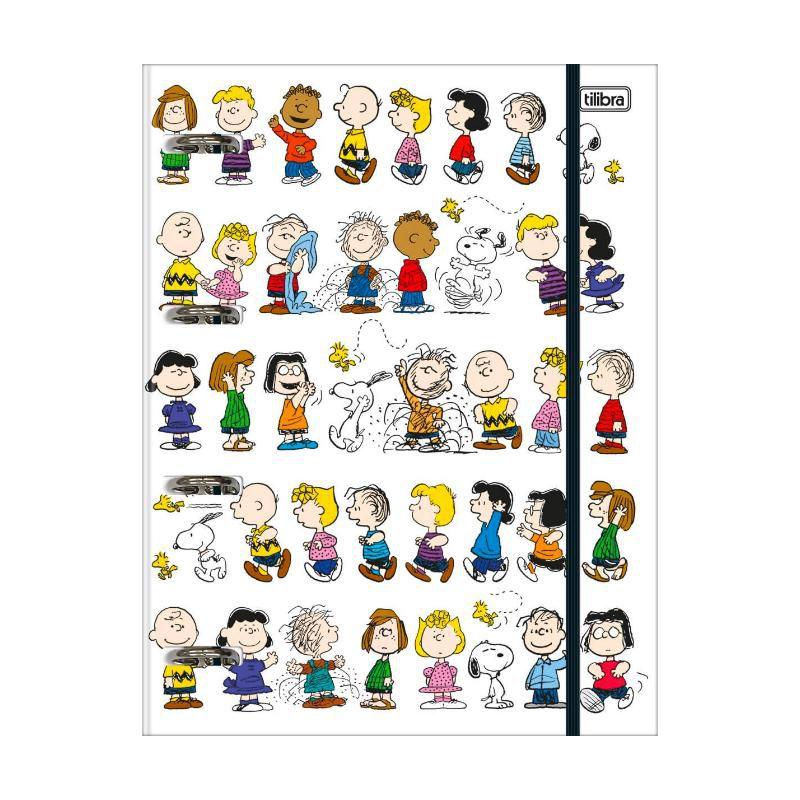 Caderno Argolado Cartonado TILIBRA Snoopy