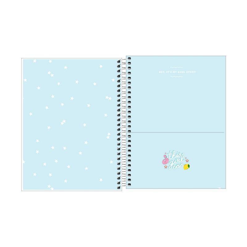 Caderno Colegial TILIBRA Capricho (10 Matérias)