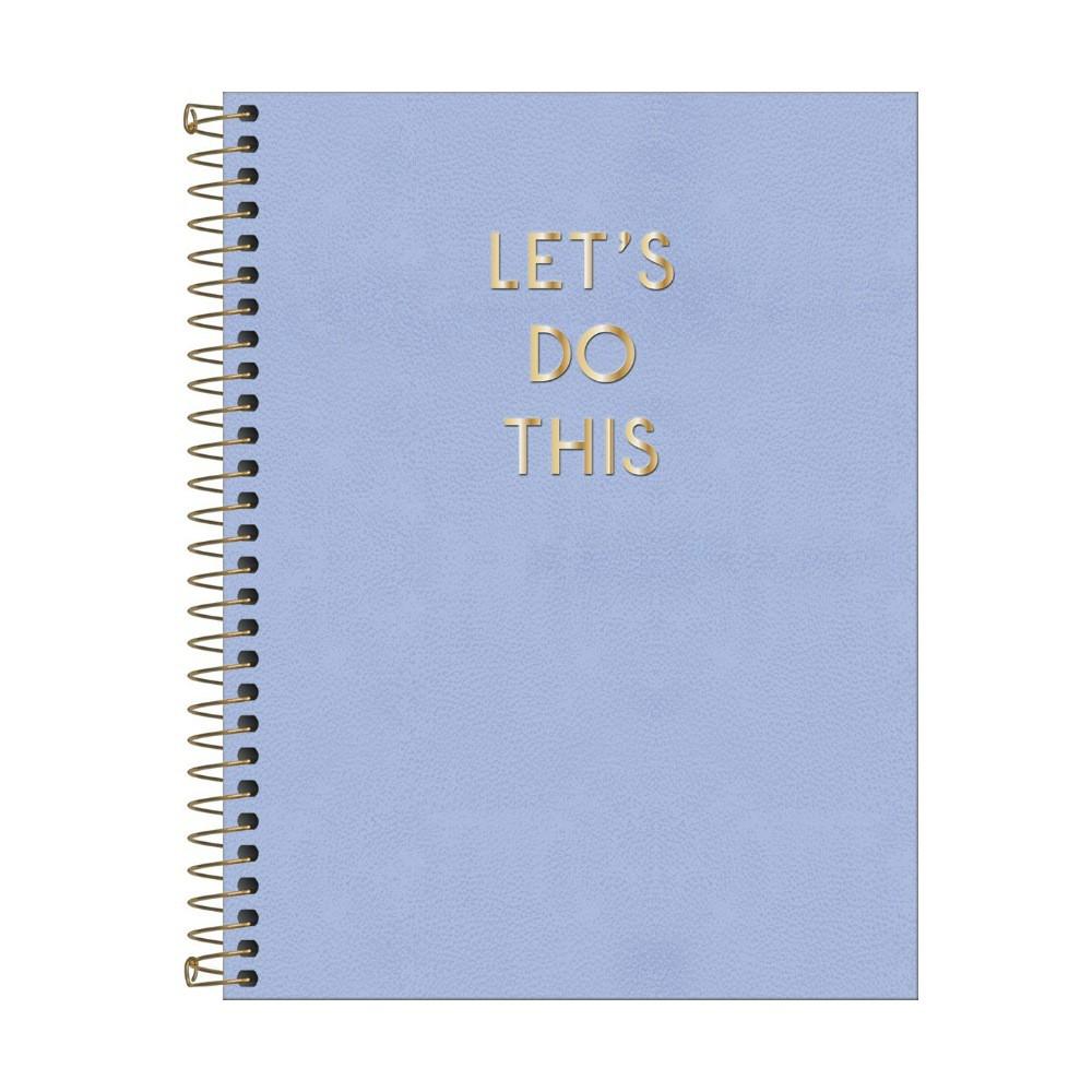 Caderno Colegial TILIBRA Executivo Vanilla - 1 Matéria c/ 80 Páginas