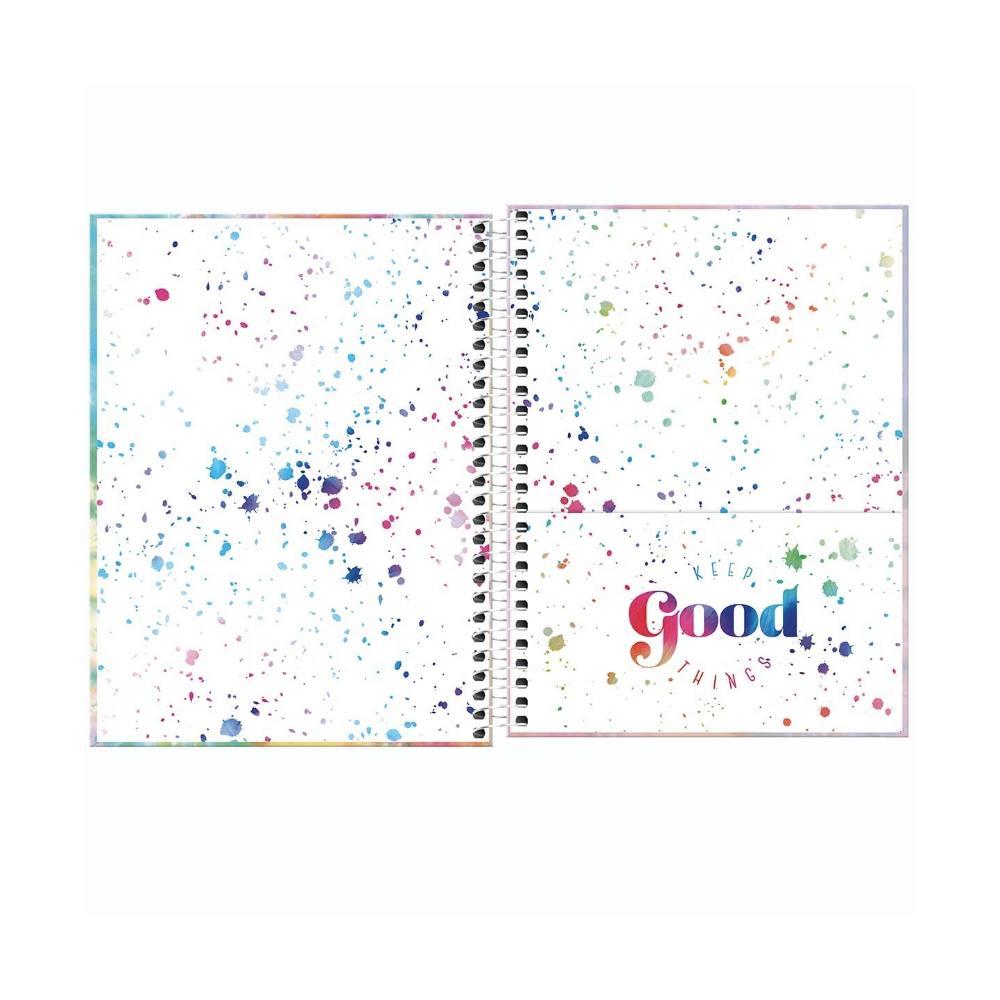 Caderno Colegial TILIBRA Good Vibes - 1 Matéria c/ 80 Páginas
