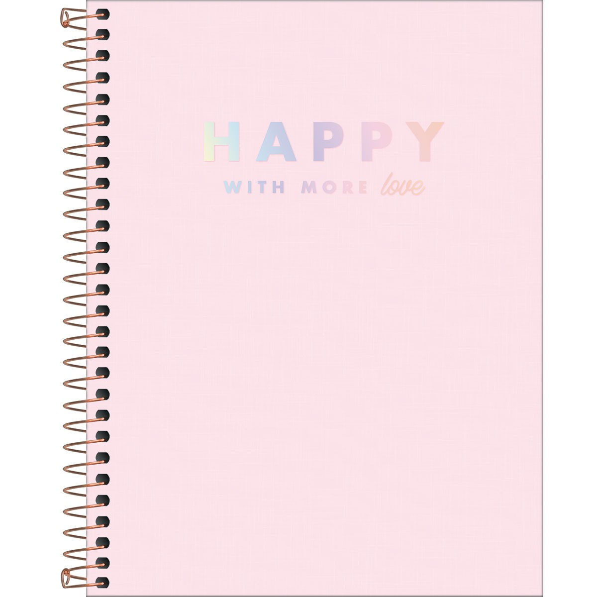 Caderno Colegial TILIBRA Happy - 10 Matéria c/ 160 Páginas