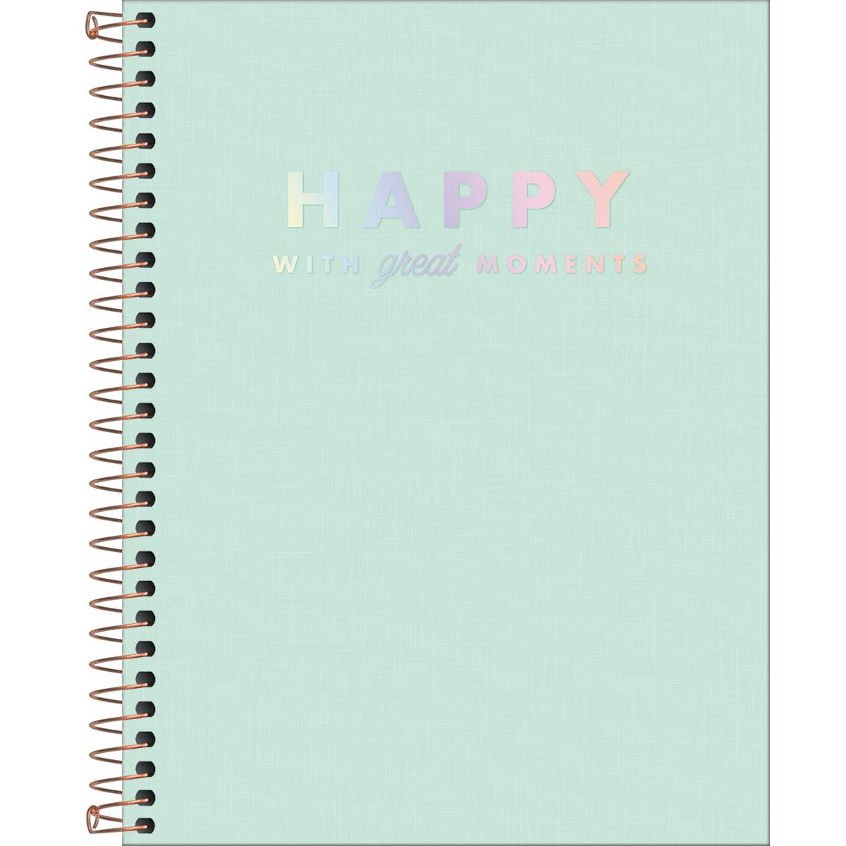 Caderno Colegial TILIBRA Happy - 1 Matéria c/ 80 Páginas