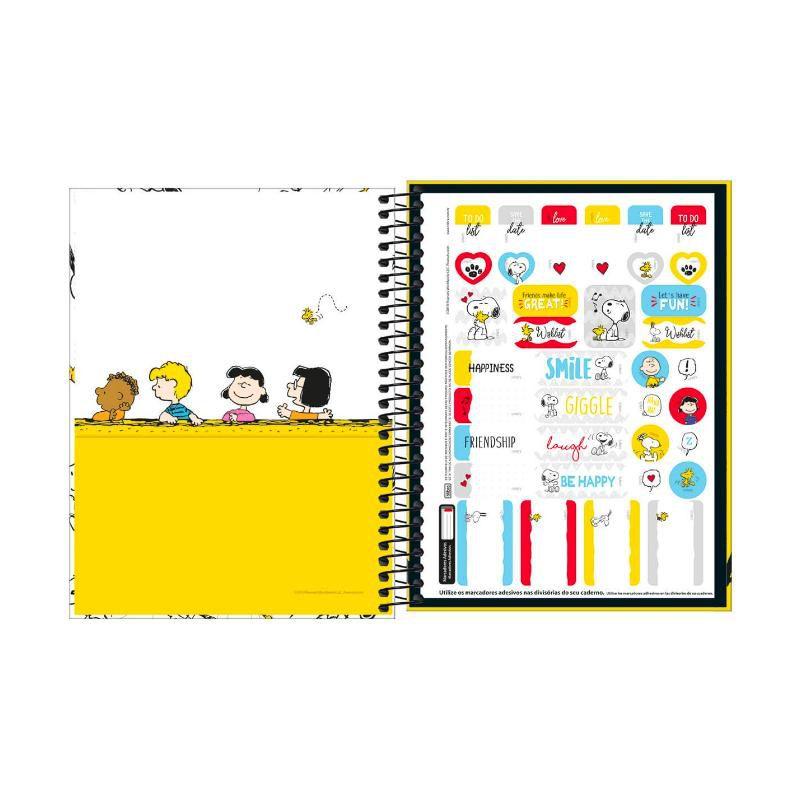 Caderno Colegial TILIBRA Snoopy (1 Matéria)