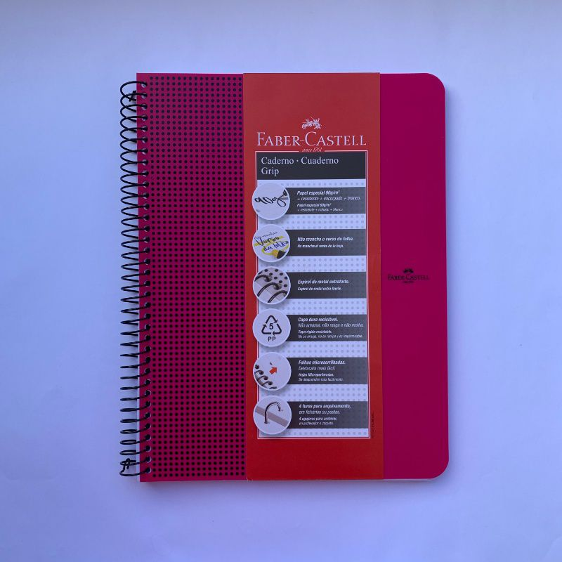 Caderno Grip FABER-CASTELL - A4 90g/m2
